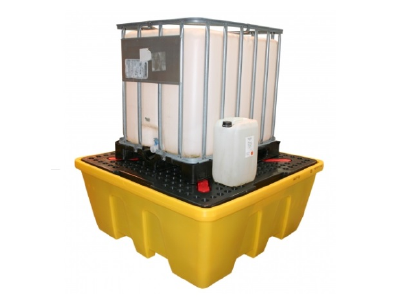 Stackable IBC Spill Pallet