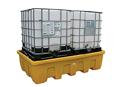 Stackable Double IBC Spill Pallet